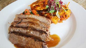 Beef Brisket   Passover Dinner in Delray Beach