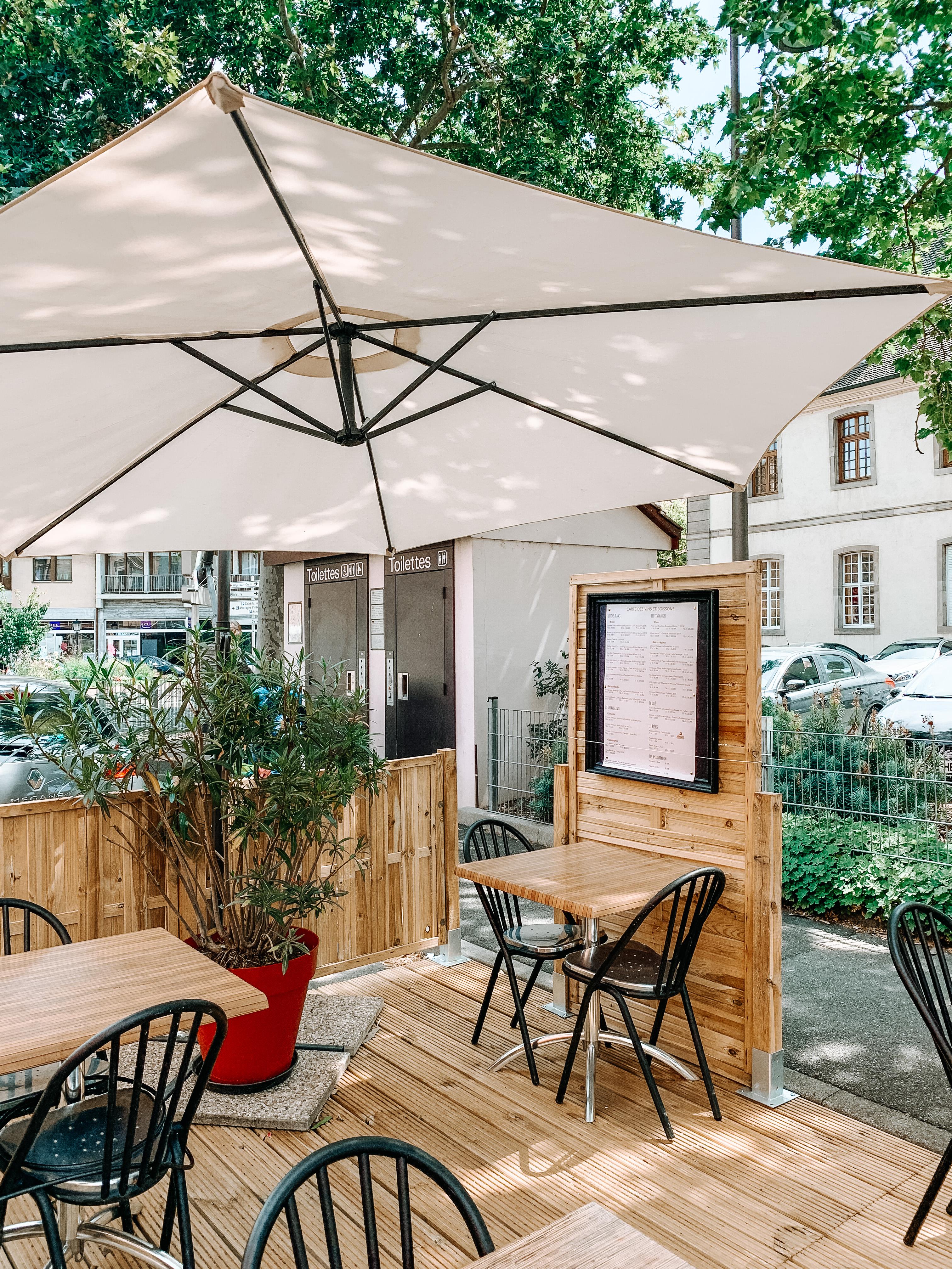 Où manger en terrasse à colmar ?