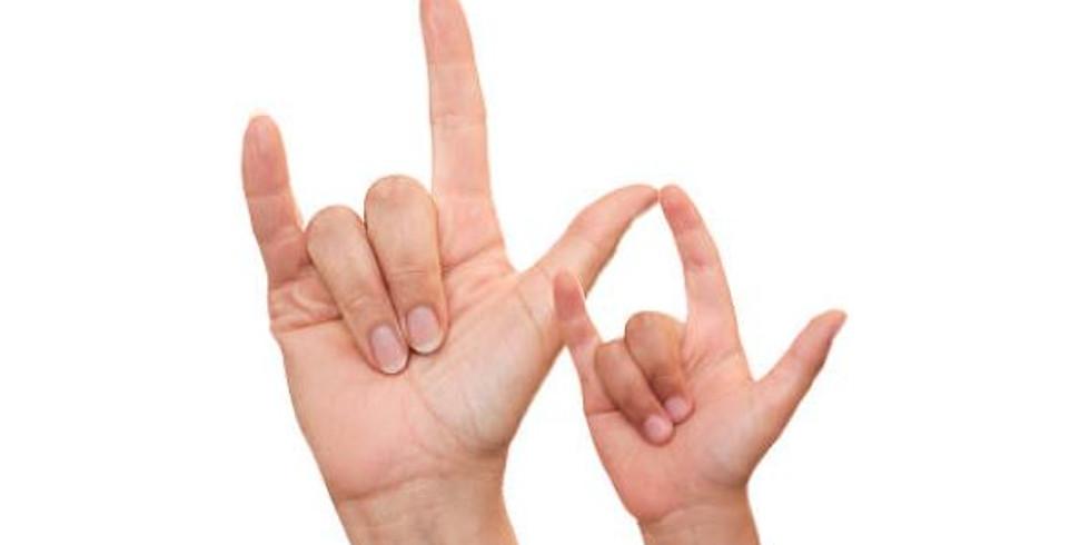 American Sign Language programs