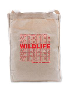 Wildlife Canvas Tote Bag
