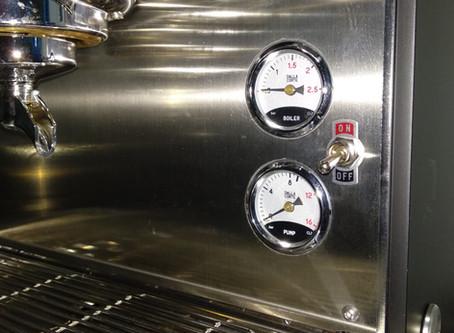 What is pressure in coffee machine? - Áp suất trong máy cà phê là gì?