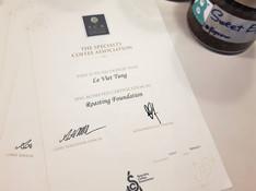 SCA CDS Certificate
