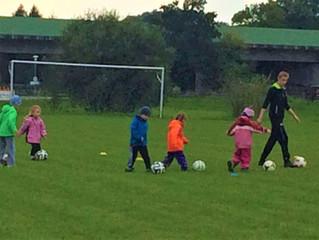 Bambini Fußballtraining