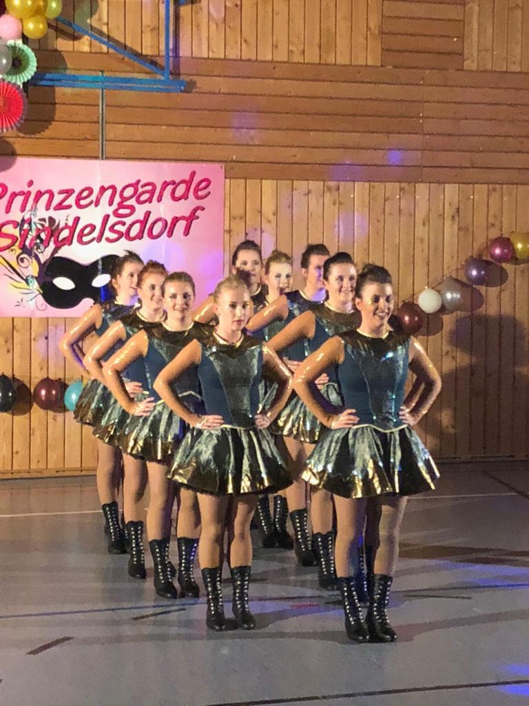 Die Teenie Garde Sindelsdorf