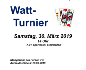 Watt - Tunier!