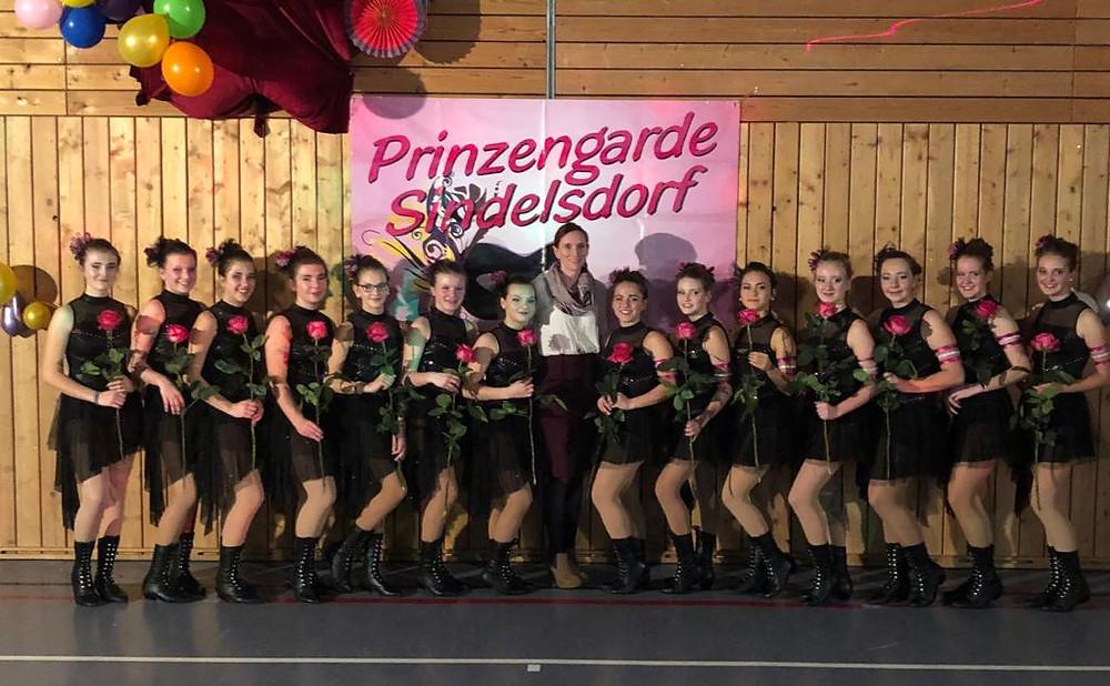 Die Prinzengarde Sindelsdorf