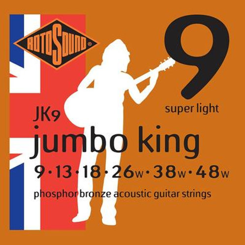 Rotosound JK Super Light Acoustic Set 9-48