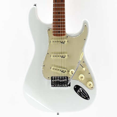 Stagg SES50M Vintage Electric Guitar, White