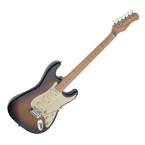Stagg SES50M Vintage Electric Guitar Sunburst