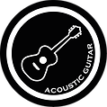 Musication A-Guitar - white on black.png