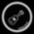 Musication Ukelele - white on black.png