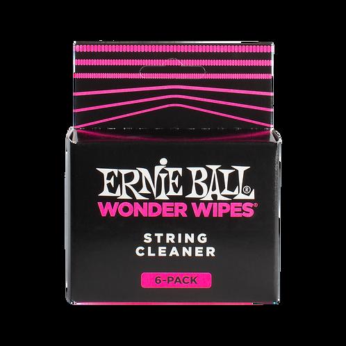 Ernie Ball Wonder Wipe String Cleaner, 6 Pack