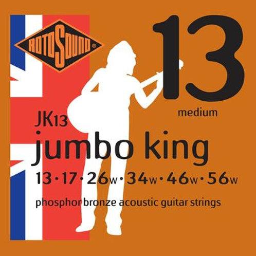Rotosound Phosphor Bronze 13-56 Acoustic Guitar Strings