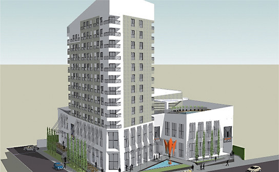 Centro Comercial e Hotel