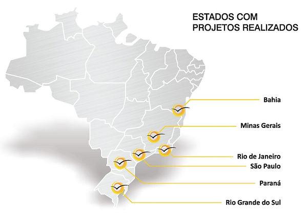 Pass Arquitetura, atuação em estados Brasileiro