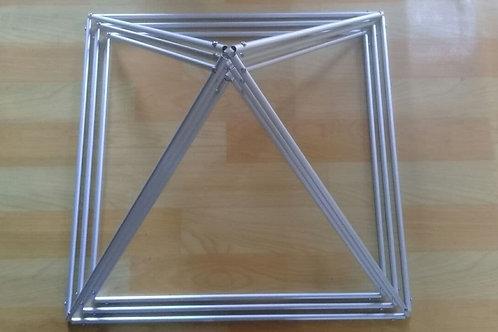 Piramide Trina de Aluminio T1 (AFL)