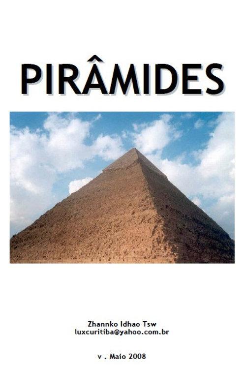 Apostila impressa sobre pirâmides