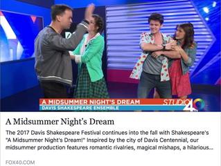 A Midsummer Night's Dream on Fox40!