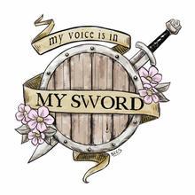 My Voice is in my Sword