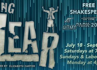 King Lear: SF Shakespeare in the Park is now AT HOME