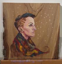Portrait of Meg