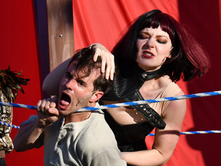 Wrestling in As You Like It with San Francisco Shakespeare Festival