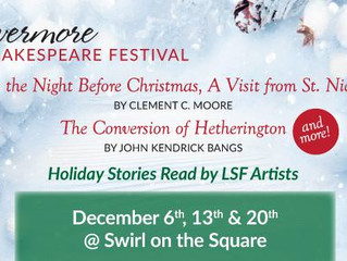 Swirl on the Square with Livermore Shakespeare Festival!