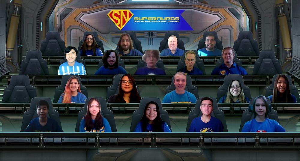Our 2021 team photo taken on Microsoft Teams.