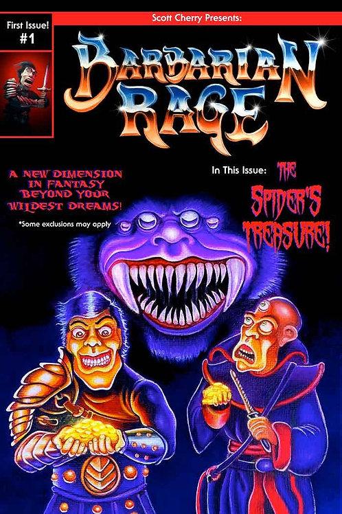 Barbarian Rage Comic Book #1