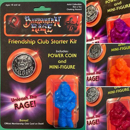 Barbarian Rage Friendship Club Starter Kit