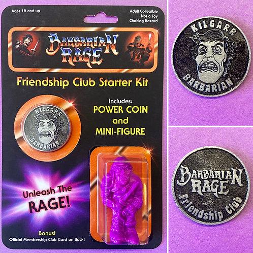 Kilgarr Barbarian Rage Friendship Club Starter Kit