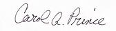 Carol Prince signature.png