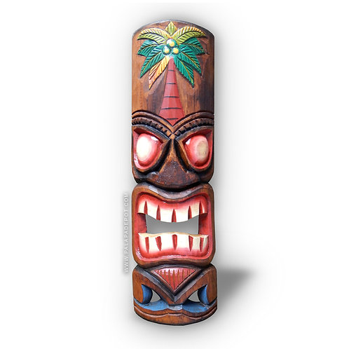 "20"" Tiki mask - Hawaiian Palm"