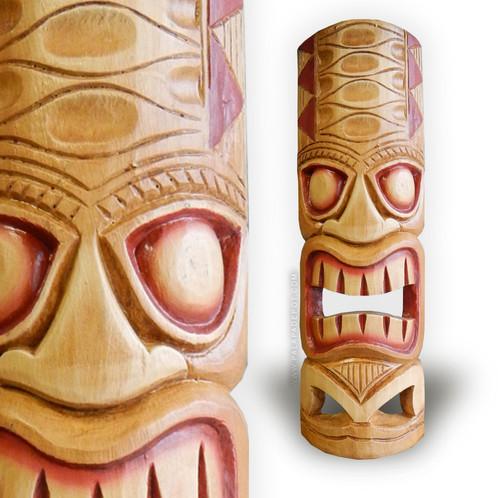 20 tiki mask hawaiian talking light