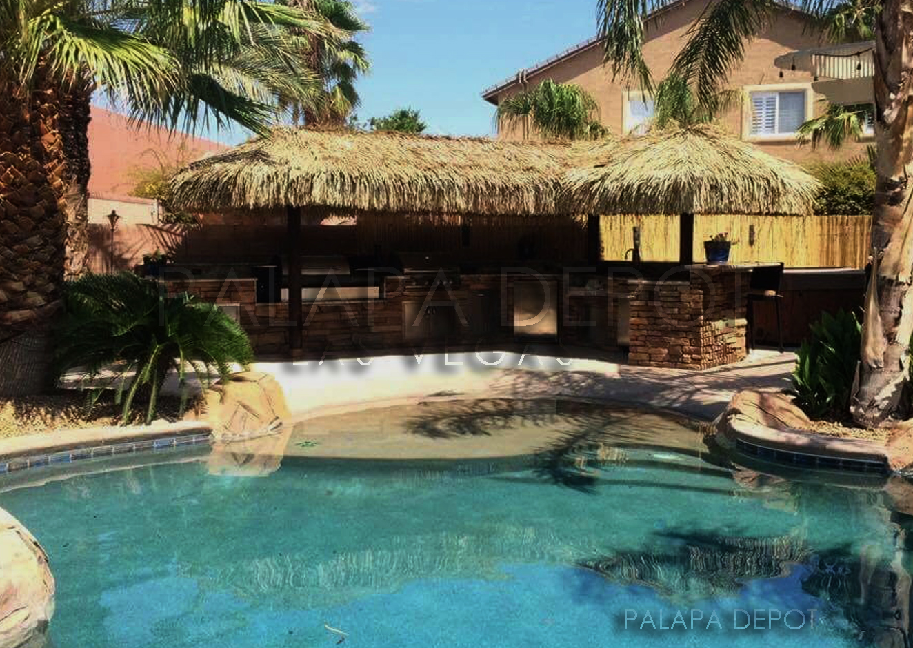"""L"" Shaped Palapa"