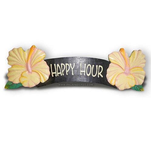 Tiki Sign Love Happy Hour