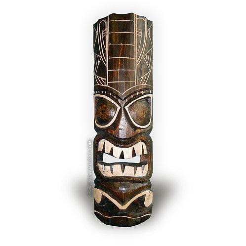 """20"""" Tiki mask - Polynesian Geometrical Design"""