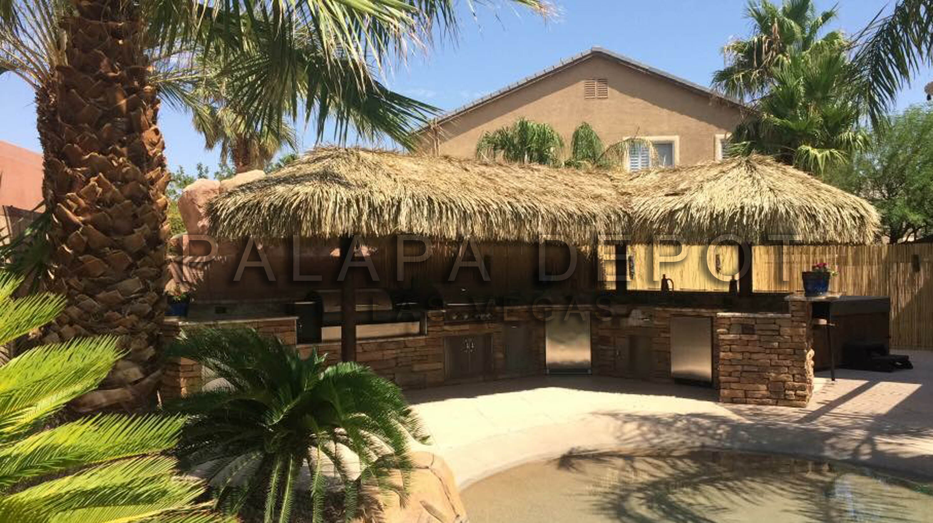 L Shaped palapa