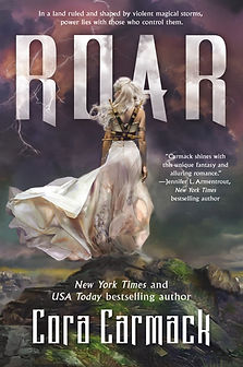 Kimberly Derting loves ROAR by Cora Carmack