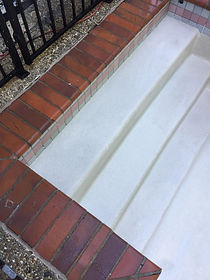Pool steps after acid wash