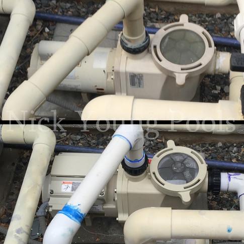 Variable speed pump install