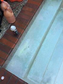 Pool steps before acid wash