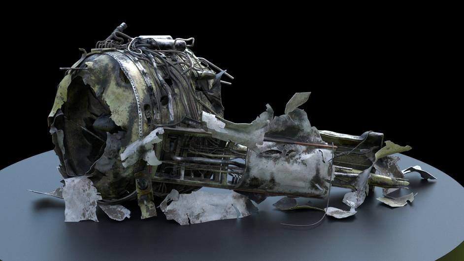 Damaged Engine