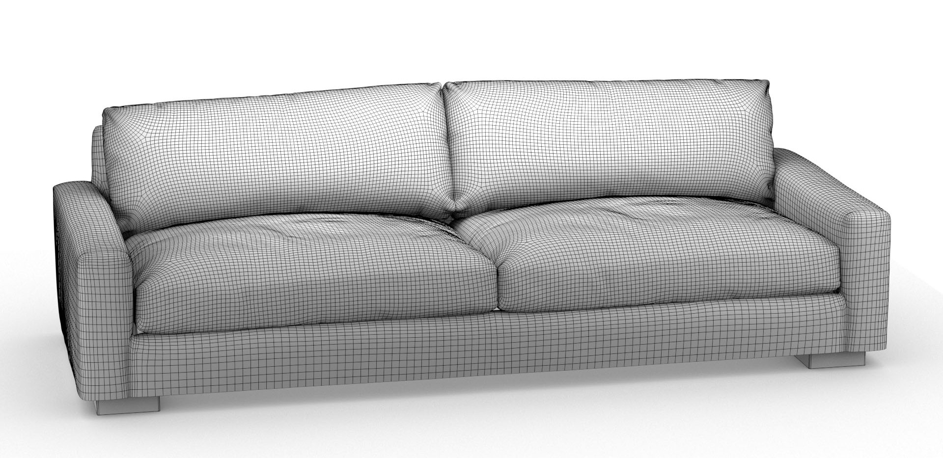 sofa wireframe