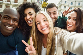 multiracial-group-of-young-people-taking