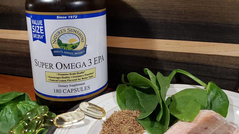 Super Omega 3 with EPA 60 count