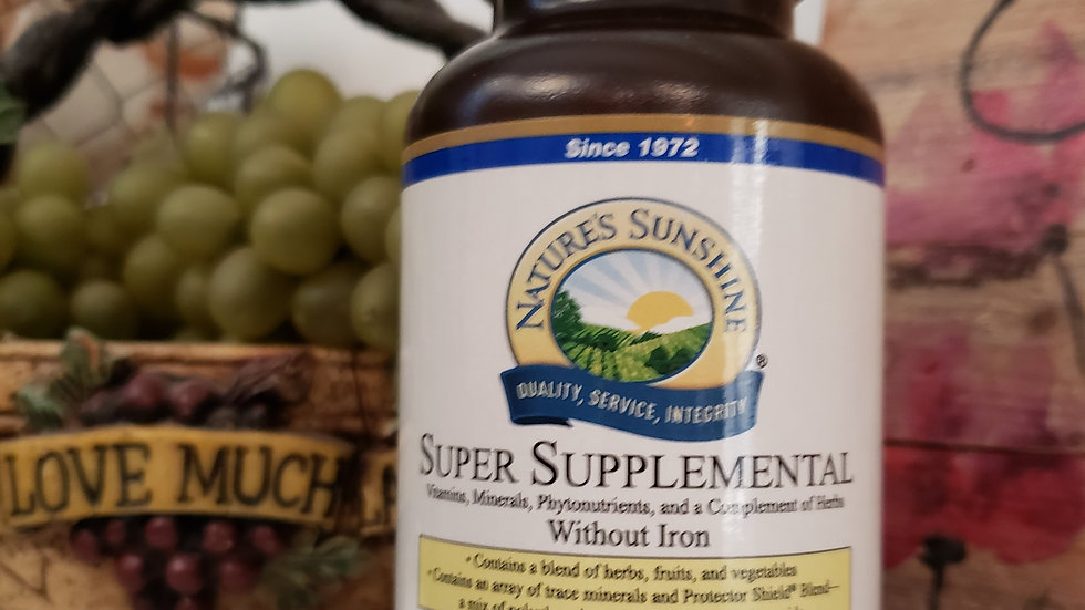 Super Supplemental without iron