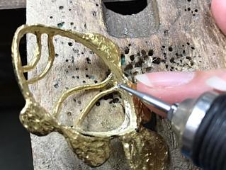 彫金Nimoの天然石ジュエリー