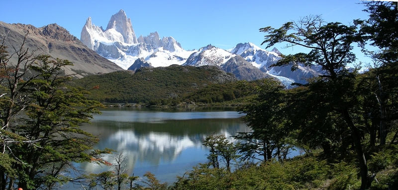 Laguna Capri. PN Los Glaciares. Argentina