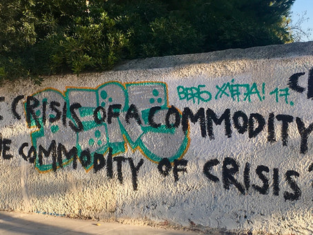 The Crisis of aCommodity of the Commodity of Crisis? Pt. 1
